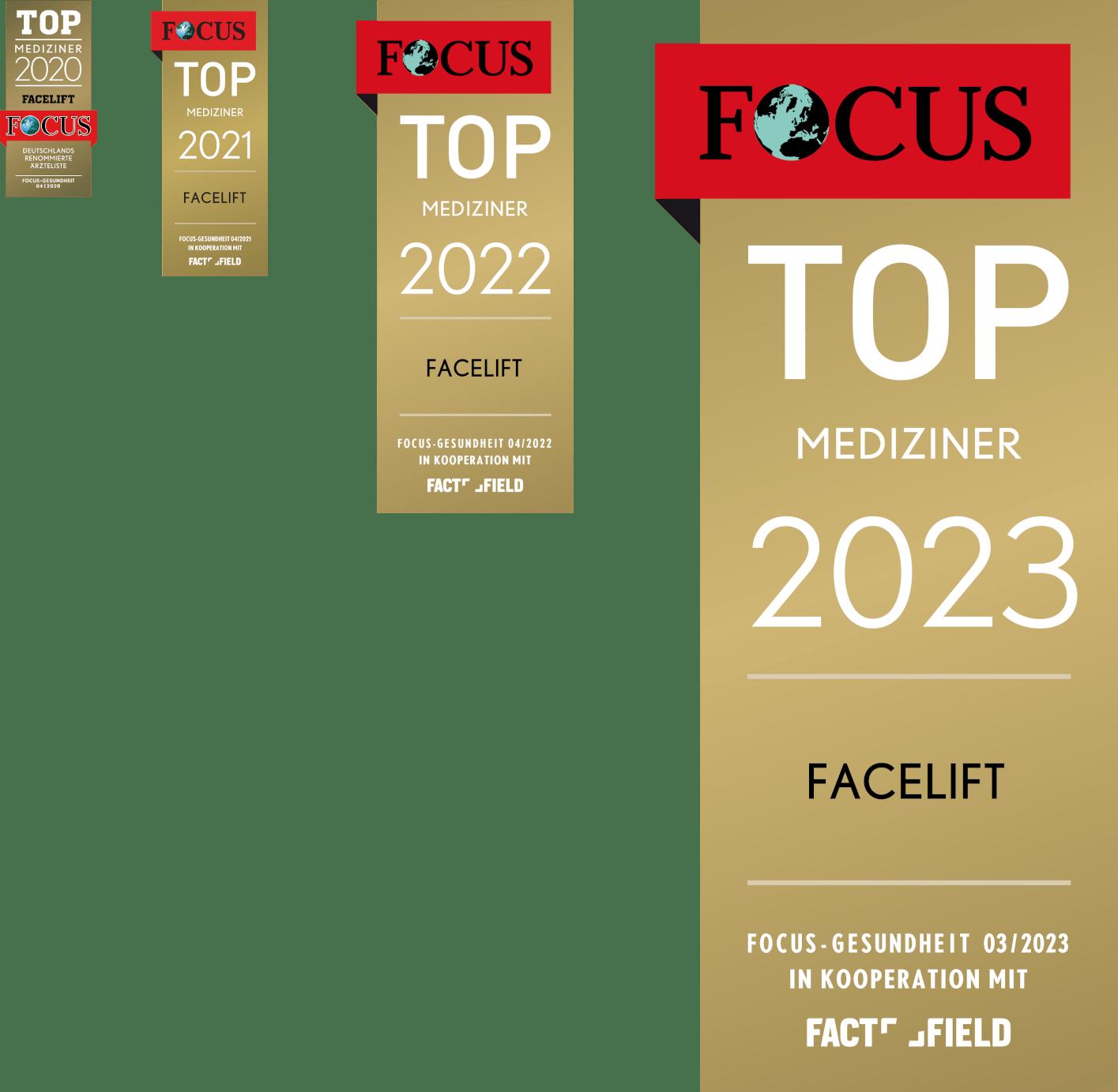 Dr. Funk - Top-Mediziner Facelift bei Focus