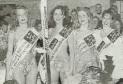Evelyn Gruber - after being crowned Miss Austria